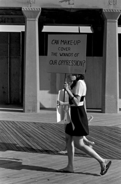 Bev Grant, 'The Miss America pageant protest', 1968