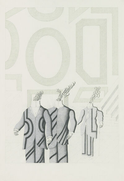 Roberto Aizenberg, 'Drawing', 1976