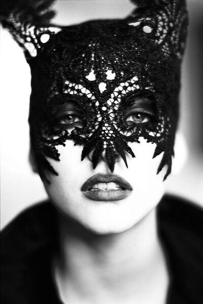Ellen von Unwerth, 'Mask: Nadja Auermann, Paris', 1991