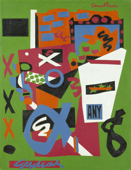 Stuart Davis, 'Semé', 1953