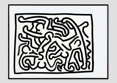 Keith Haring, 'Untitled #16', 1988