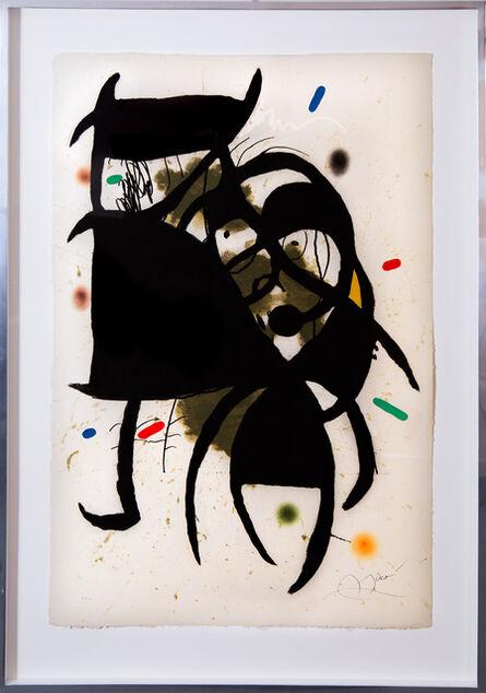 Joan Miró, 'Fundació Palma, IV', 1988