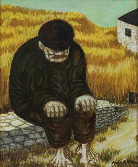 Giuseppe Migneco, 'Contadino sul muretto'