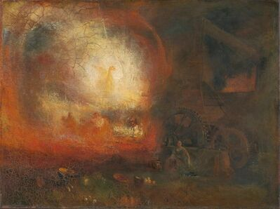J. M. W. Turner, 'The Hero of a Hundred Fights', 1847