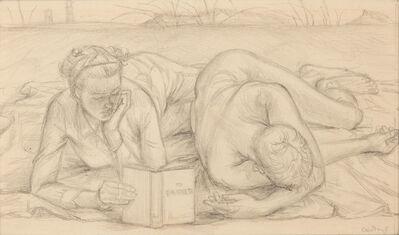 "Paul Cadmus, 'Study for ""To E.M. Forster""', circa 1948"