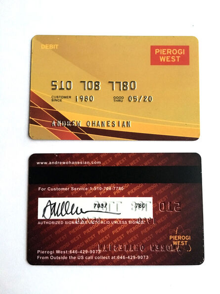 Andrew Ohanesian, 'Pierogi West Debit Card', 2016