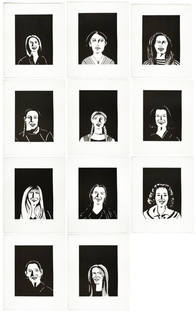 Alex Katz, 'You Smile and the Angels Sing', 2017