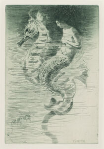 Frederick Stuart Church, 'The Mermaid', ca. 1881