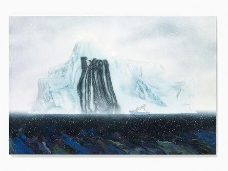 Zevs, 'The ExxonIcebergsafter Frederic EdwinChurch', 2017