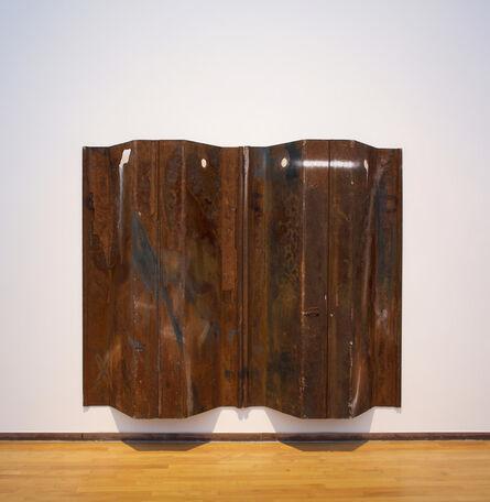 Rosy Keyser, 'ea Wall (Stell Kilt Redux)', 2017