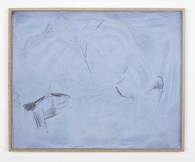 Nick Mauss, 'even with closed eyes', 2014