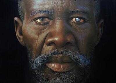 Babajide Olatunji, 'Tribal Marks Series III #61', 2021