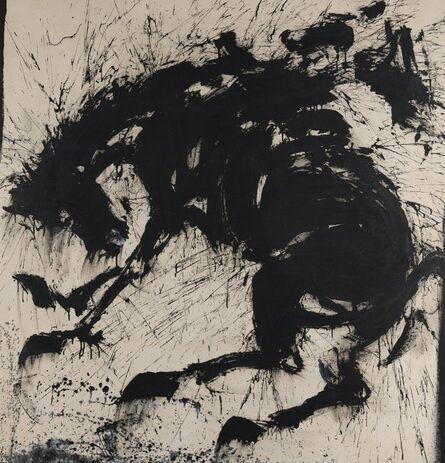 Richard Hambleton, 'Tribeca Rider', 1985