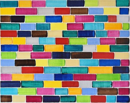 Astrid Stöppel, 'Bricks in the wall #2 ', 2018