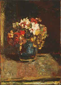 Adolphe Monticelli, 'Bouquet', ca. 1875