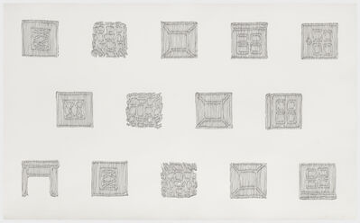 Richard Artschwager, 'Untitled (Six Objects)', 1974