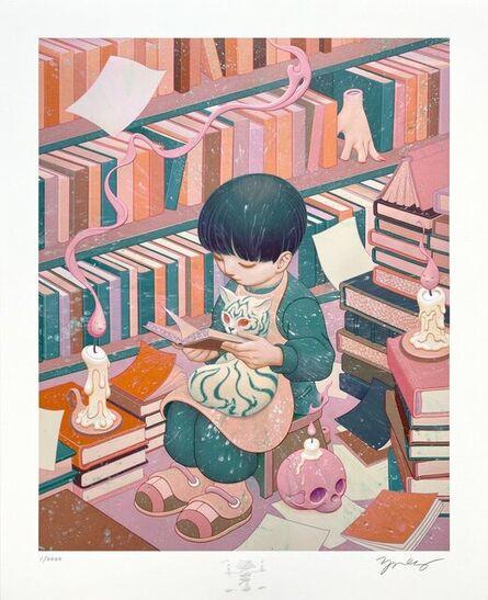 James Jean, 'Bibliophile', 2021