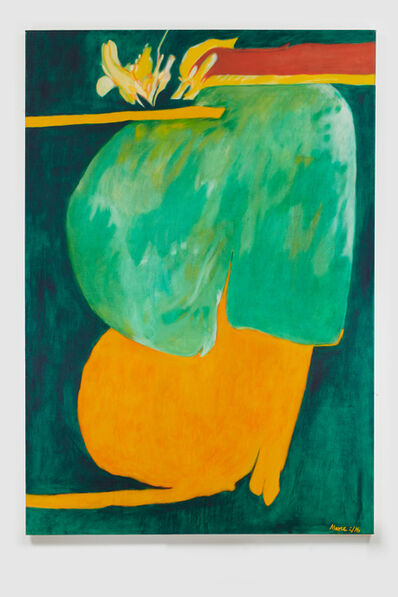 James Moore, 'Untitled I (Green Orange)', 1976
