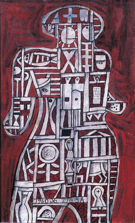 José Gurvich, 'Hombre construido en rojo', 1960