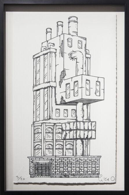 Luke O'Sullivan, 'Trapdoor Tower', 2015