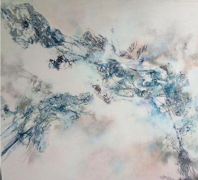 Isabel Turban, 'Untitled, Antique European Map', 2015