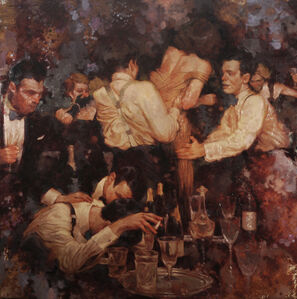 Joseph Lorusso, 'Dinner Party', 2020