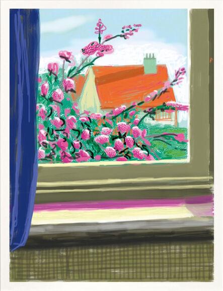 David Hockney, 'My Window, Art Edition (No. 751–1,000) 'No. 778', 17th April 2011', 2019