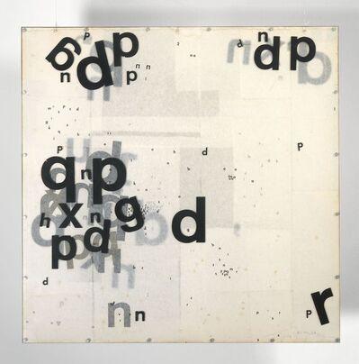 Mira Schendel, 'Sem título (Objeto grafico) (Untitled (Graphic Object))', 1973