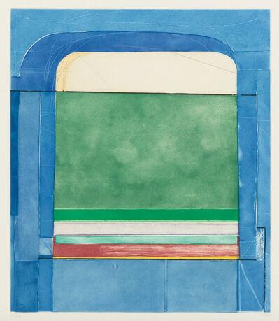 Richard Diebenkorn, 'Blue Surround', 1982