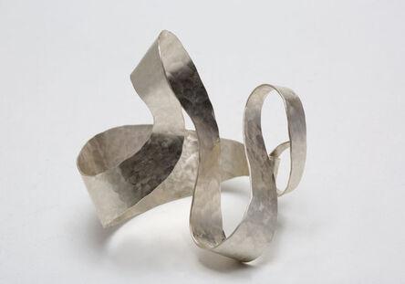 """Jacques Jarrige, 'BRACELET in hammered Silver by Jacques Jarrige """"Isadora""""', 2016"""