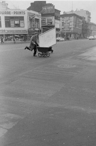 John Cohen, 'Red Grooms Crossing Third Avenue', 1960