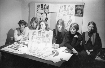 Kanonklubben, 'Artists: Lene and Marie Bille, Rikke Diemer, Kirsten Dufour, Kirsten Justesen, Jytte Keller, Jytte Rex and Birgitte Skjoldjensen.', 1970
