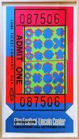 Andy Warhol, 'Lincoln Center Ticket, Opaque Acrylic (Feldman & Schellmann, II.19)', 1967