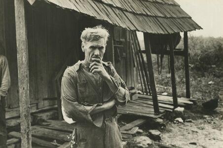 Ben Shahn, 'Sam Nichols, tenant farmer, Boone County, Arkansas', 1935