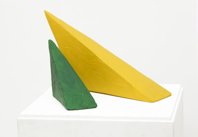 Eduardo Costa, 'First Interaction of Two Volumetric Paintings', 1998-1999
