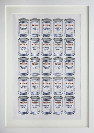 Banksy, 'Soup Cans (Tesco Value Tomato Soup)', 2006-2010