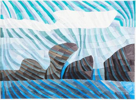 Kathy Wen, 'Rock and Ocean', 2018