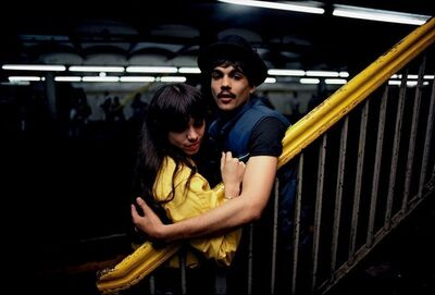 Bruce Davidson, 'Untitled, (Couple on the Platform) from Subway', 1980