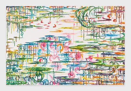 Kysa Johnson, 'blow up 416 - CRUDE (life) - Phytoplankton after Monet', 2021