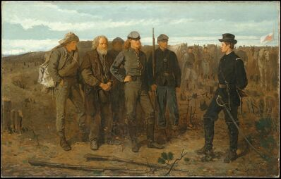 Winslow Homer, 'Prisoners from the Front', 1866