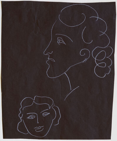 Henri Matisse, 'Profile and Portrait of a Woman', 1936