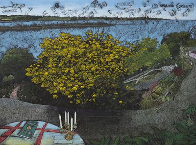 Jesper Christiansen, 'Paradismaleri #XI Zig Zaggy Have', 2015