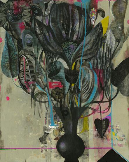 Olaf Hajek, 'Big Flower', 2014