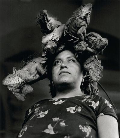 Graciela Iturbide, 'Señora de las Iguanas, Juchitán', 1979