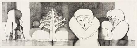 Ibrahim El-Salahi, 'Meditation Tree', 2008