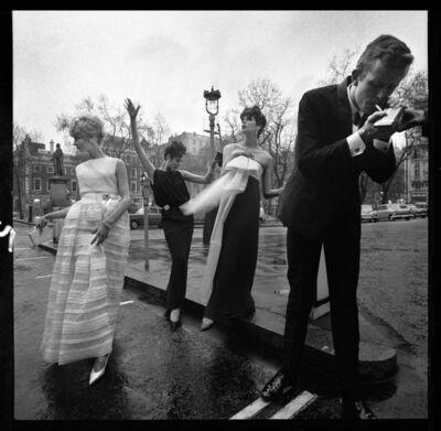 Brian Duffy, 'Models in Hanover Sq, London', 1962