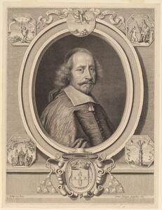 Peter Ludwig van Schuppen after Pierre Mignard I, 'Cardinal Jules Mazarin', 1661
