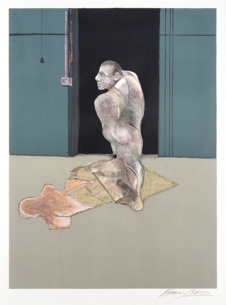 Francis Bacon, 'Study For A Portrait Of John Edwards', 1987