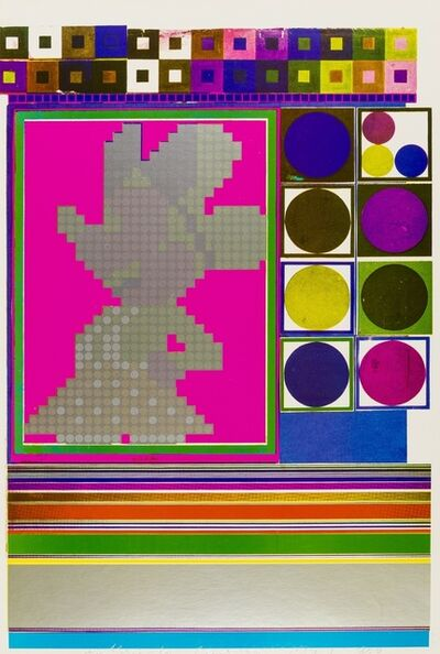 Eduardo Paolozzi, 'Inside Down Under...What are the building blocks of structuralism? (15) (Sidey 827)', 1965-70