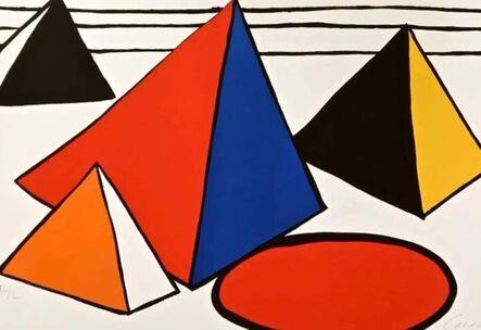 Alexander Calder, 'Four Great Pyramids', 1970-2000